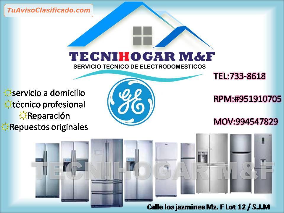 Servicio t cnico de refrigeradores general electric - Servicio tecnico de general electric ...