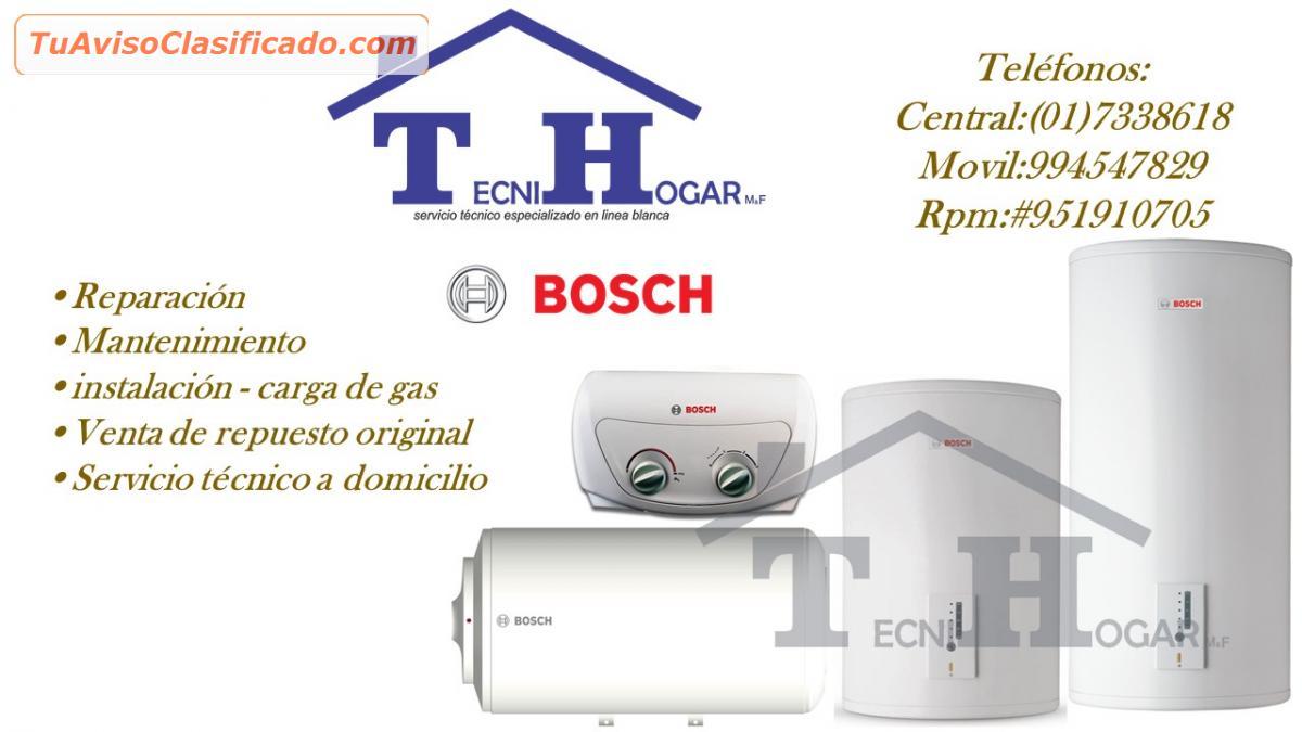 Servicio t cnico de termas bosch reparaciones 4108759 for Servicio tecnico bosch madrid