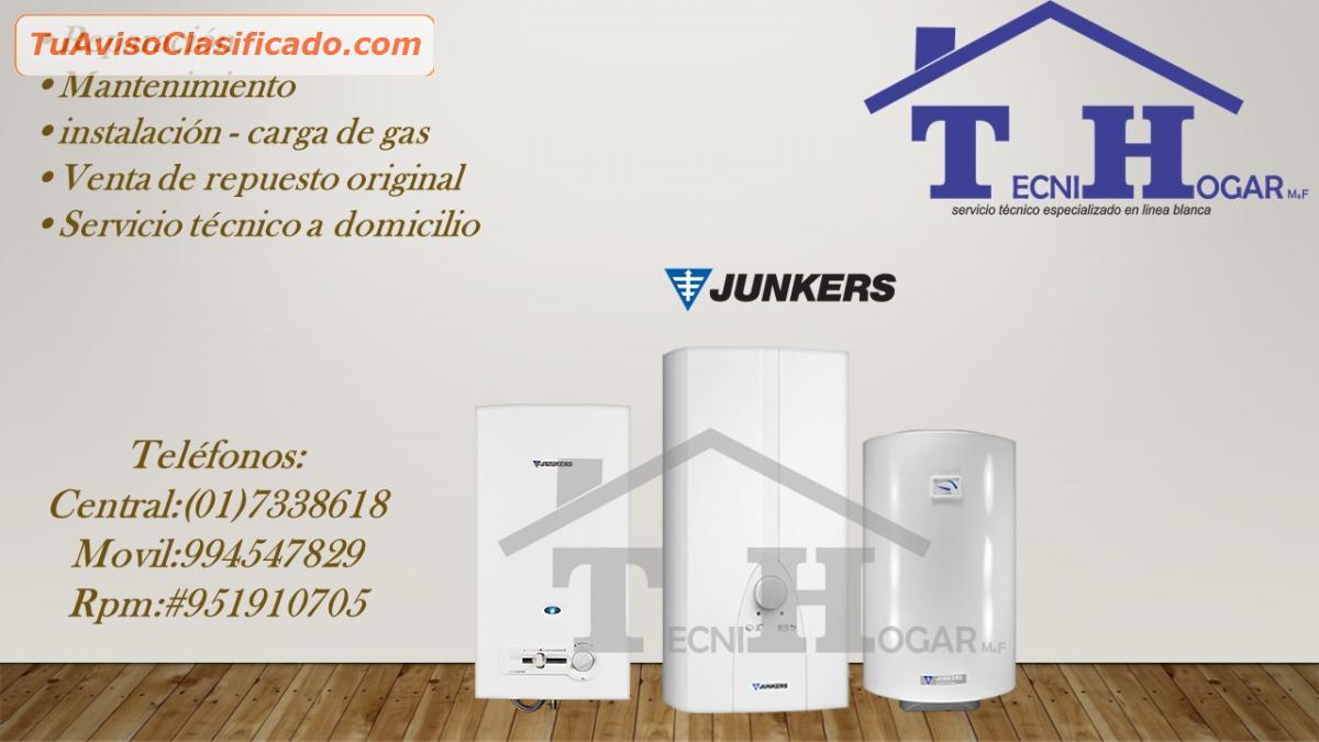 Servicio t cnico termas junkers 410 8759 733 8618 for Servicio tecnico oficial junkers
