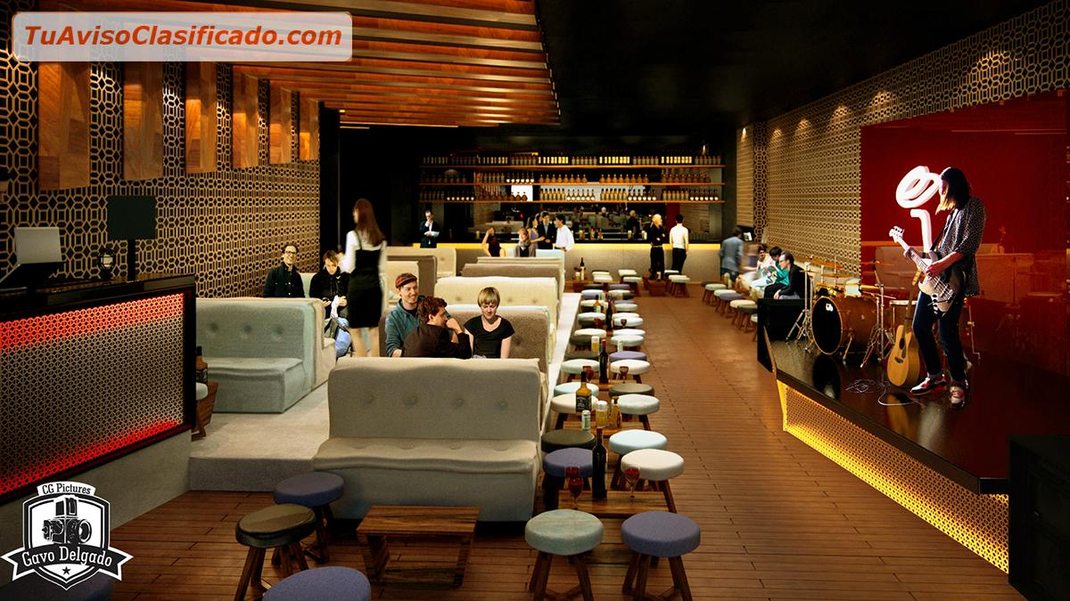 Dise o y decoraci n de locales restaurantes discotecas for Diseno de restaurantes