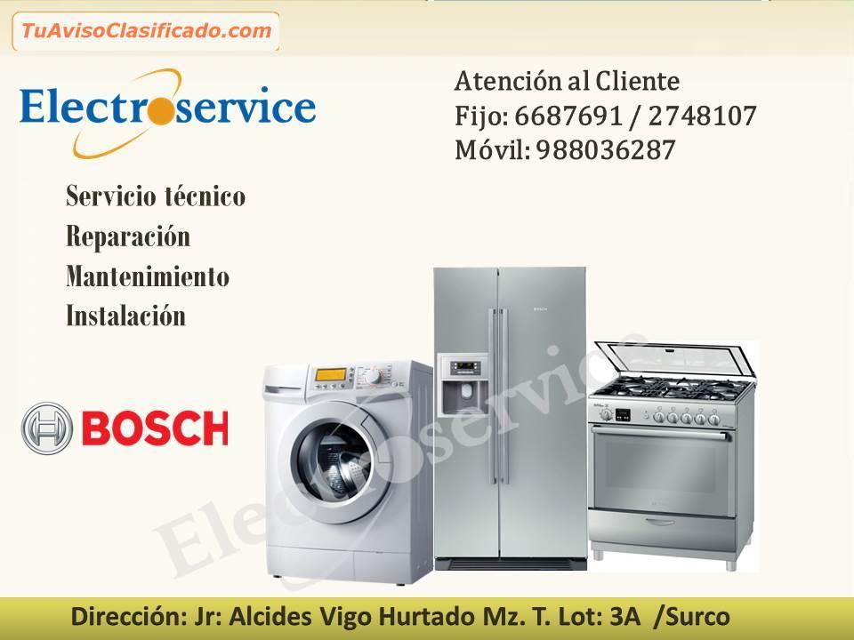 Bosch servicio t cnico de cocina a domicilio - Tecnico en cocina y gastronomia ...