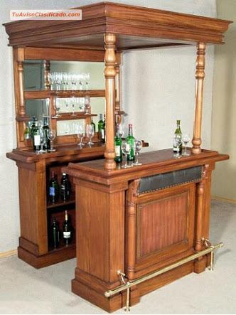 Muebles bares cl sicos y modernos lima per mobiliario - Barras de bar para casas ...