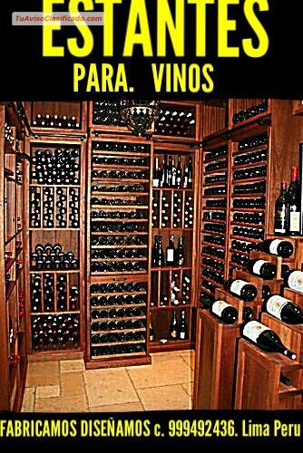 Estantes para vinos y cavas mobiliario y equipamiento decor - Estantes para vinos ...