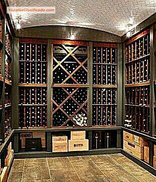 Estantes para vinos y cavas mobiliario y equipamiento - Estantes para vinos ...