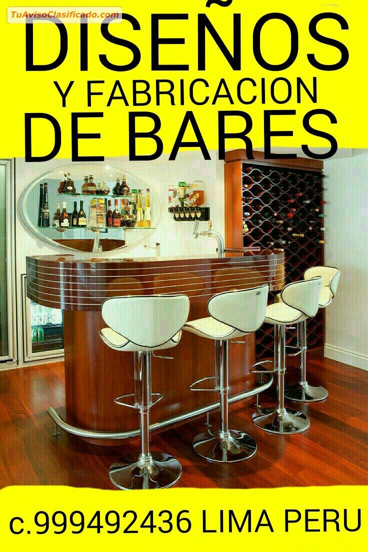 Closets y reposteros modernos de madera y melamine for Fabricacion de bares de madera