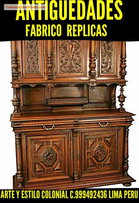 replicas muebles antiguos cheap francs palacio de