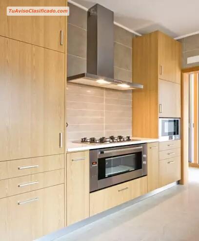 Closets modernos de madera lima per hogar y muebles for Muebles de cocina clasicos
