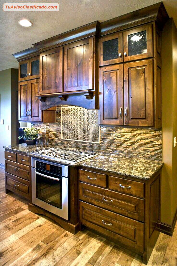 Closets modernos de madera lima per hogar y muebles for Muebles de cocina de madera modernos