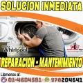 Reparaciones inmediatas a domicilio, whirlpool '' 7576173