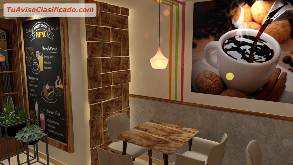 Decoración de juguerías, café, bar, snack bar - Servicios y Comerc...