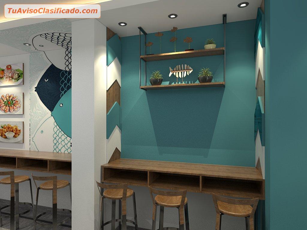 Decoraci n de interiores de discotecas servicios y - Decoracion de interiores restaurantes ...