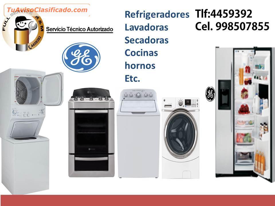 Reparacion domicilio servicio tecnico lavadoras g e - Servicio tecnico oficial general electric ...
