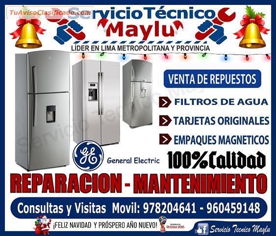 Servicio tecnico de refrigeradoras general electric en la - Servicio tecnico de general electric ...