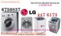 SERVICIO TECNICO LAVADORA SECADORA LG 4476173