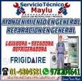 En San Miguel>>servicio Técnico Frigidaire�??Lavadoras y Secadoras?4804581