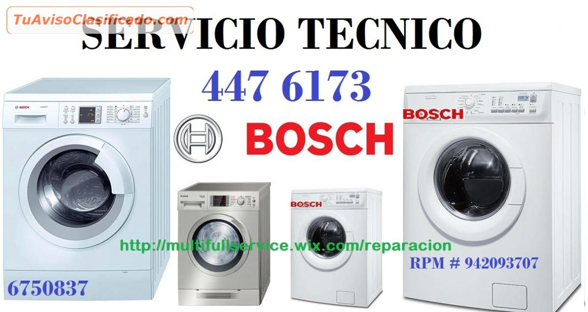 Servicio tecnico bosch de lavadoras secadora 4476173 for Servicio tecnico bosch madrid