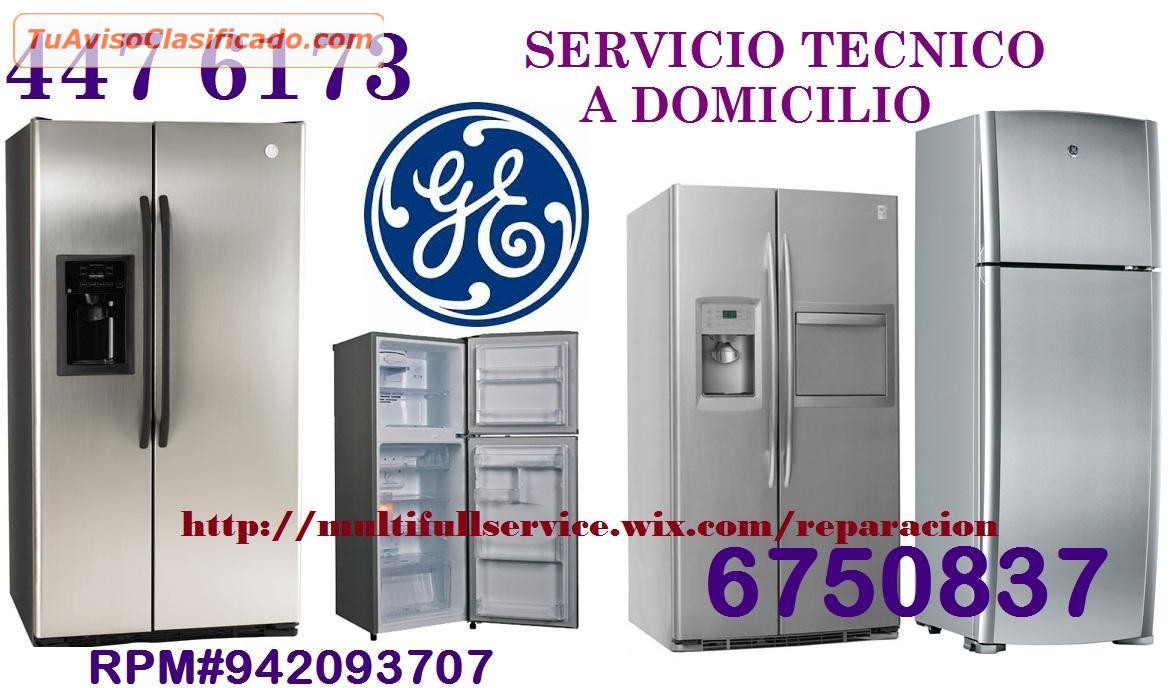 Servicio tecnico general electric refrigeradoras 4476173 - Servicio tecnico de general electric ...
