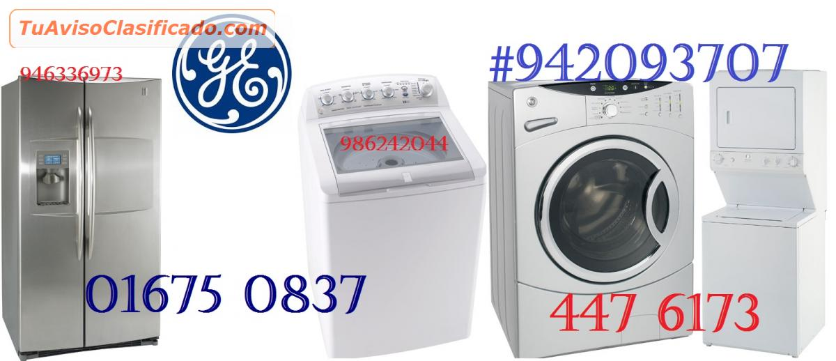 Servicio tecnico general electric lavadoras 4476173 - Servicio tecnico oficial general electric ...