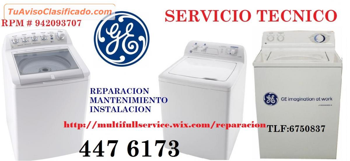 Secadora de ropa electrodom sticos lavadoras - Servicio tecnico general electric espana ...