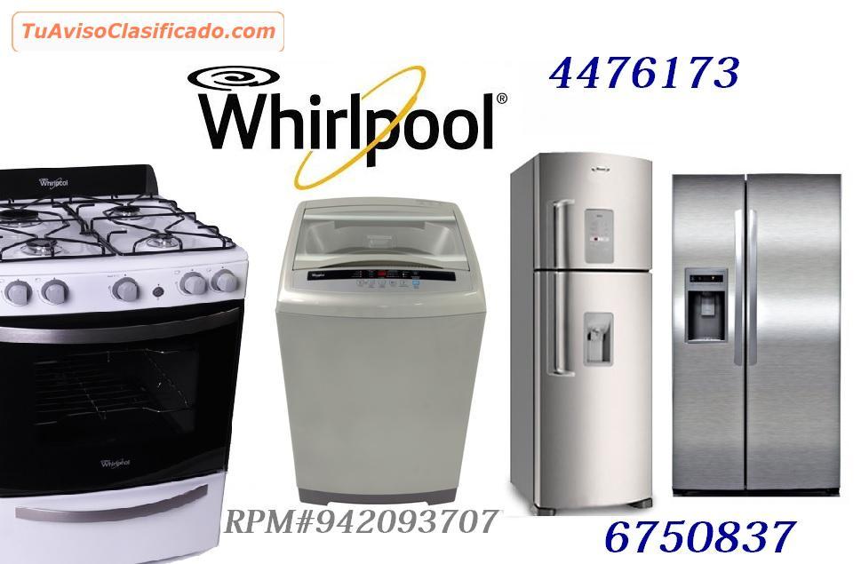 Servicio tecnico whirlpool lavadoras refrigeradoras for Servicio tecnico whirlpool