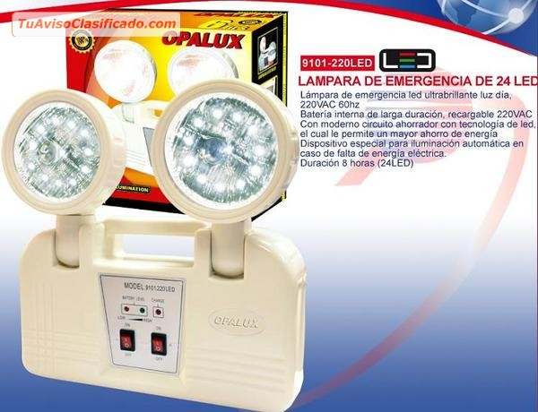 Luces de emergencia variadas distribuidores electr nica - Precio luces de emergencia ...