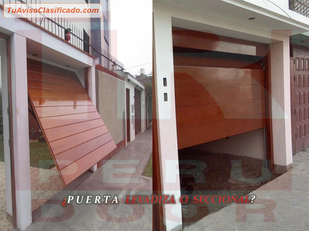 Mantenimiento para puertas de garaje levadizas seccionales PERU DO...