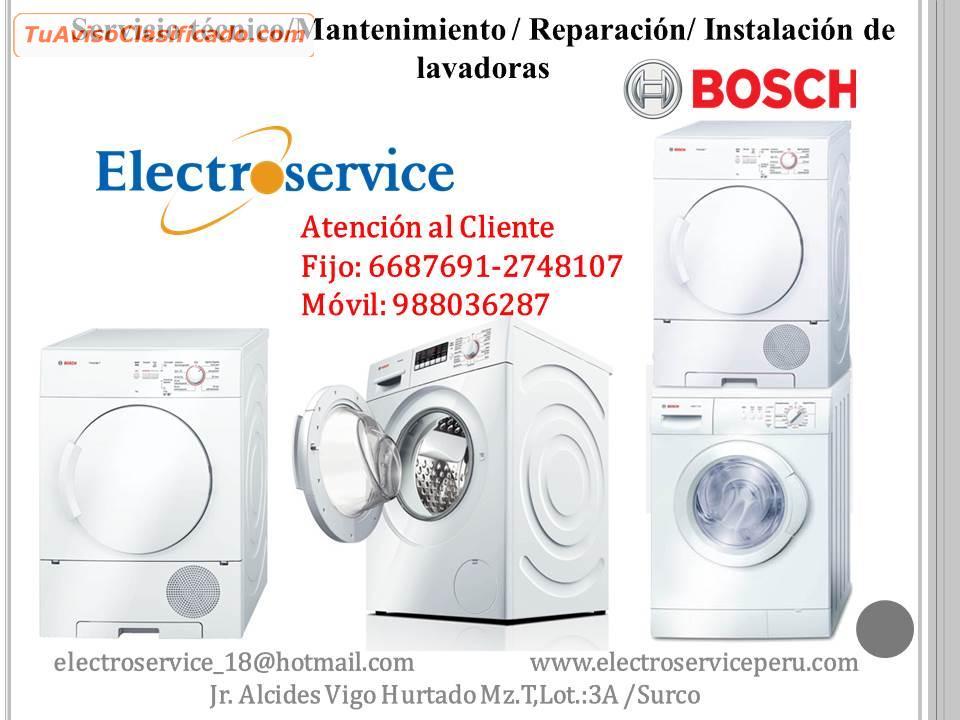 Mantenimiento cocinas bosch Lima - Servicios Lima - Empleos