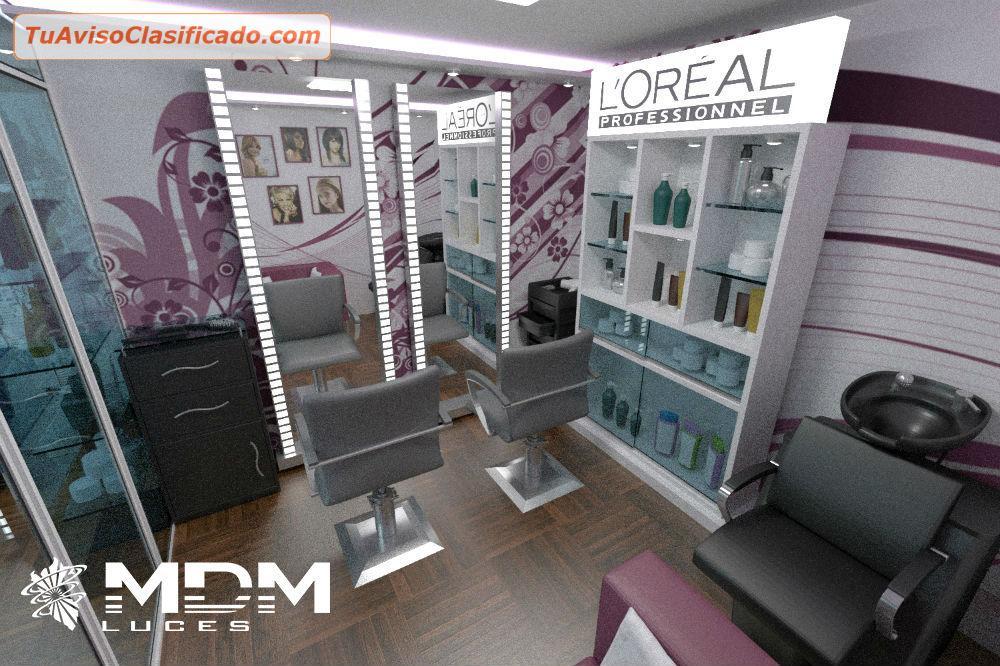 Decoracion de peluquerias barberias salones de belleza - Diseno y decoracion ...
