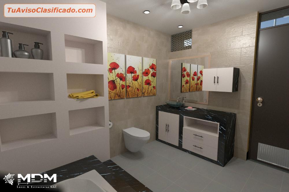Dise o y decoracion de casas departamentos mdm luces servicio for Diseno y decoracion de casas