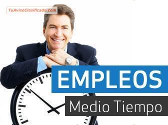 Encuentre Ofertas de Empleo Medio Tiempo en Bogotá. Todas las ofertas de empleo y trabajo de Medio Tiempo o tiempo completo. El Tiempo Clasificados sección de Empleos.