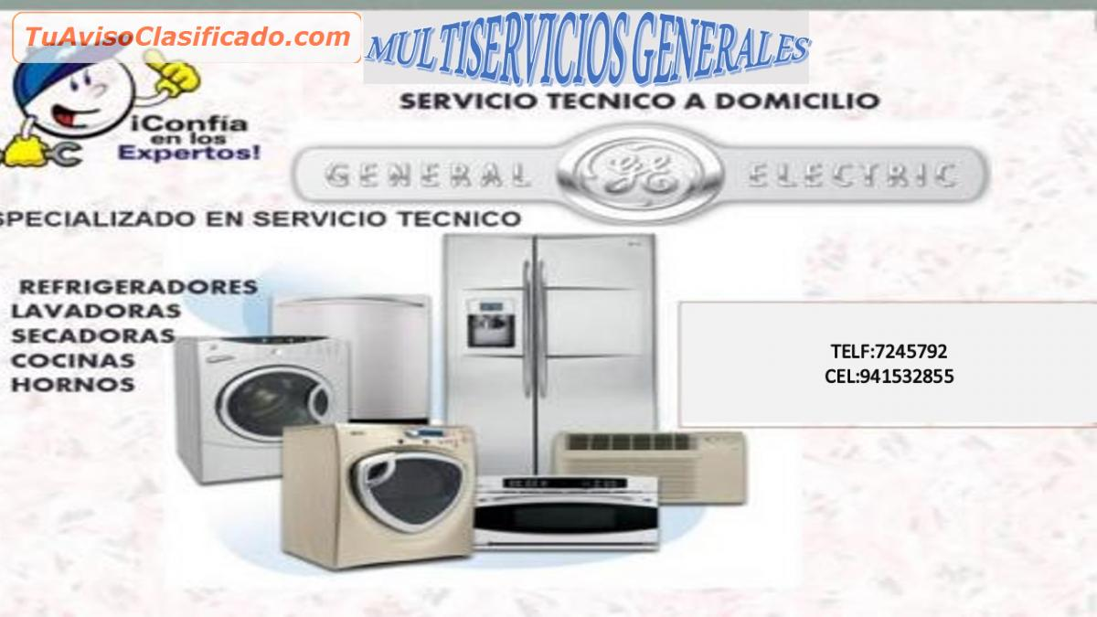 Servicio tecnico lavadoras general electric lima - Servicio tecnico oficial general electric ...