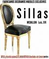 SILLONES y SILLAS MEDALLON LUIS XVI fabricó diseño
