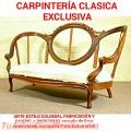 CARPINTERÍA y Ebanisteria servicios clasicos colonial lima Perú