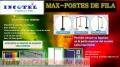Separadores De Fila, Cromado, Mixto, Pov Pvc/incotel  Solicitelos 5663451