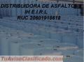 EMULSULSION ASFALTICA CSS-1H SUPER ESTABLE CON POLIMEROS X CISTERNAS X CILINDROS