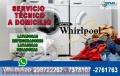 Llama al 7378107!! Reparación de Lavasecas Whirlpool en San Isidro