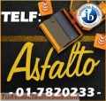 CEMENTO ASFALTICO PEN 60/70, 85/100, ADITIVO DE GRAN DEMANDA BRIMAX. CEL. 942437882.