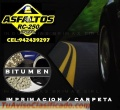 BITUMEN IMPRIMANTE, EN CILINDRO Y LATA DE 05 GLN,. BRIMAX.