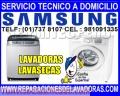 Llama ya al 7378107!! Servicio Técnico de Lavadoras SAMSUNG en Surco