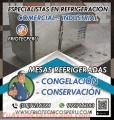 Mantenimiento y reparación de MÁQUINAS DE FRIO *MESAS REFRIGERADORAS* ((7256381))