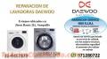 SERVICIO TECNICO LAVADORA DAEWOO 4457879