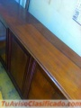 Barra bar mueble ESTILO INGLÉS HECHO EN caoba vendo