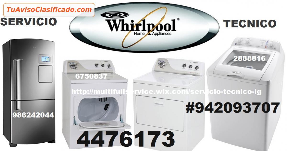 servicio tecnico whirlpool lavadoras 4476173 servicios y