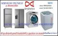 Servicio tecnico lava seca daewoo 6750837