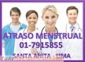 Atraso menstrual lima 7915855 Santa Anita – Lima