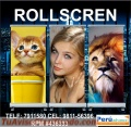 Roll screen publicitarios z1