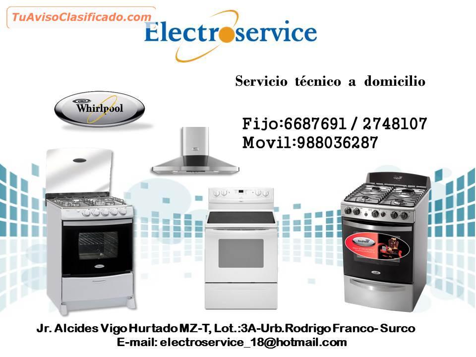 Reparacion mantenimiento 988036287 de cocinas whirlpool for Cocinas whirlpool modelos