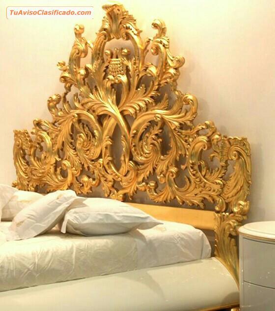 Comedores cl sicos lu s xv lima centro per hogar y for Muebles tallados en madera