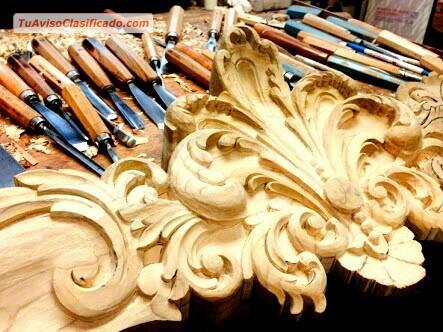 Comedores cl sicos lu s xv lima centro per hogar y for Muebles de sala tallados en madera