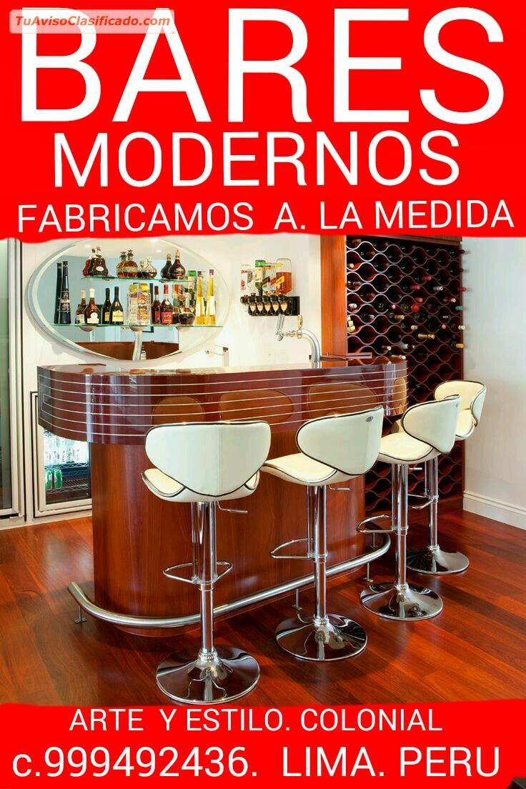 Bares Modernos Fabrico Diseno Muebles Al Detalle Y  ...